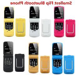 0.66 Inch LONG-CZ J9 Kids Mini Flip Phone Bluetooth Dialer S