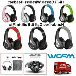 Mpow Bluetooth Headphones Wireless Over Ear Stereo Headset F