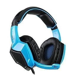 Sades 5 in 1 Stereo Gaming Headset  - Blue