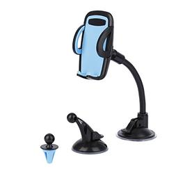 LESHP 3-in-1 Universal Car Phone Mount Phone Holder Cell Pho