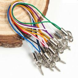 100x Mobile Cell Phone Lanyard Cord Strap Lariat String Char