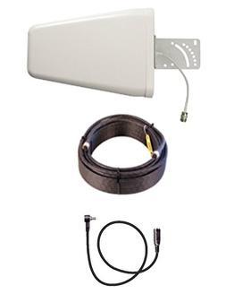 10dB Yagi 3G 4G LTE Antenna Kit To Verizon Pantech UML290 w/