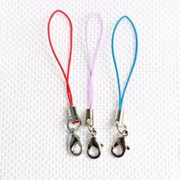 10pcs Cell Phone Lanyard Cords Strap Lariat Mobile Lobster C