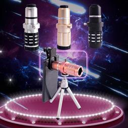 12X HD Zoom Telescopic <font><b>Phone</b></font> Lens Metal