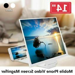 "14"" Smartphone Screen Magnifier 3D Video Mobile Phone Amplif"