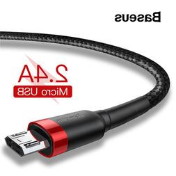 Baseus 1m 2m <font><b>Micro</b></font> <font><b>USB</b></fon
