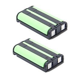 2 Pack - Cordless Phone Battery for Panasonic HHR-P104