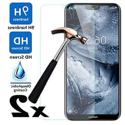 Telegaming For Nokia X6 2018 Tempered Glass Screen Protecto