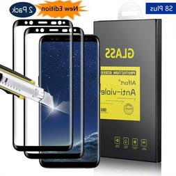 2 Pack Samsung Galaxy S8 Plus Screen Protector Tempered Glas