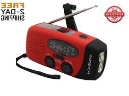 iRonsnow Solar Emergency NOAA Weather Radio Dynamo Hand Cra