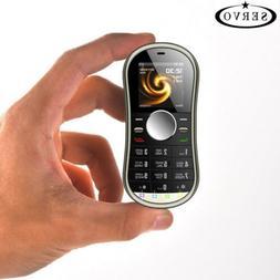 2018 SERVO S08 fidget Spinner Mobile phone 1.3inch Dual SIM