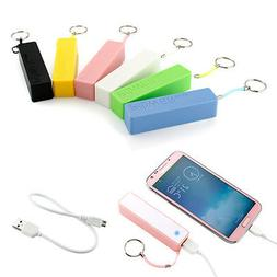 2600mAh External Portable Power Bank Backup Battery USB Char
