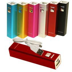 2600mAh Portable External Backup Power Bank Battery Charger