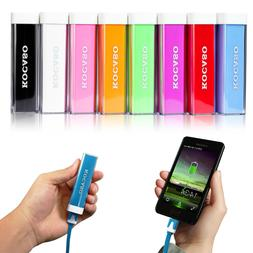 2600mAh USB External Portable Backup Battery Power Bank Char