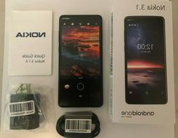 """Nokia 3.1 AT&T GSM Unlocked 5.45"""" Android One Smart Phone 4G"""