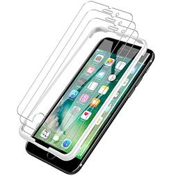 LK  Screen Protector for iPhone 7 Plus,  DoubleDefence Techn