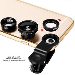 3 in 1 180 ° Fish Eye 0.67X Wide-angle Macro SLR Special Ef