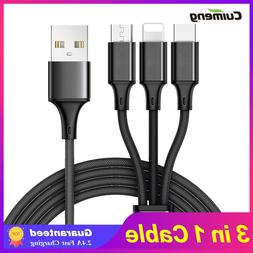 Cuimeng 3 in <font><b>1</b></font> USB Cable for iPhone Sams