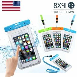 3 Pack Mpow Waterproof Underwater Phone Pouch Bag Pack Case