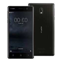 "Nokia 3 TA-1032 4G LTE 16GB Dual SIM, 5"" GSM Unlocked Smartp"