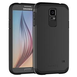 JETech Case for Samsung Galaxy S5, Protective Cover, Black