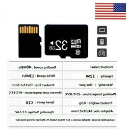 32GB Micro SD Card TF Memory Card HC Class10 for Mobile Phon