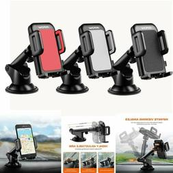 Mpow 360° Mount Holder Car Windshield Stand For Mobile Phon