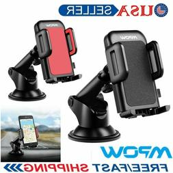 MPOW 360°Rotating Car Holder Windshield Mount Bracket Stand