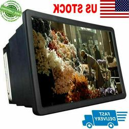 3D HD Screen Amplifier Folding Mobile Cell Phones Screen Mag