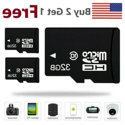 3PK 32GB Micro SD Card TF Memory Card HC Class10 for Mobile