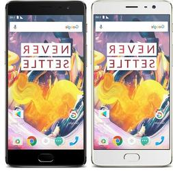 OnePlus 3T A3000 64GB Dual-SIM LTE GSM Unlocked  Android Sma
