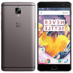 "OnePlus 3T A3000 6GB/128GB 5.5"" Factory Unlocked North Ameri"