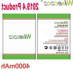 WISECOCO 4000mAh <font><b>S7</b></font> Battery For Ulefone