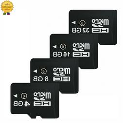 4GB 8GB 16GB 32GB CLASS 6 Micro SD TF Flash Memory Card For