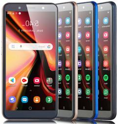 "6.0"" Cheap Cell phones Quad Core Unlocked Android 8.1 Smartp"