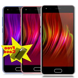 """5.0"""" Cheap Factory Unlocked Android 7.0 Cell Smart Phone Qua"""