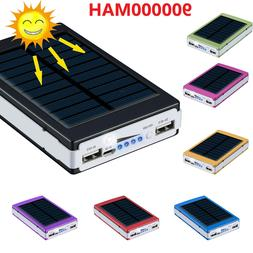 900000mAh Backup External Battery USB Power Bank Pack Charge