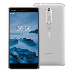 "Nokia 6.1  TA-1068 64GB White/Iron, Dual Sim, 5.5"", 4RAM, GS"