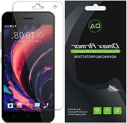 Dmax Armor for HTC Desire 10 Pro Screen Protector, Anti-Bub