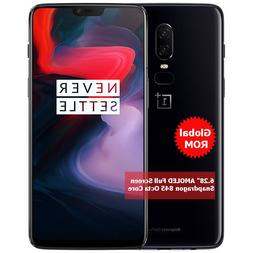 """Oneplus 6 Global ROM 6.28"""" OLED Snapdragon 845 Octa Core WIF"""