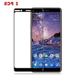 For Nokia 7 Plus Screen Protector Tempered Glass, Premium 2.