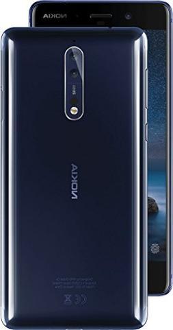 """Nokia 8 TA-1052 DS 64GB/4GB 5.3"""" WQHD - Factory Unlocked Int"""