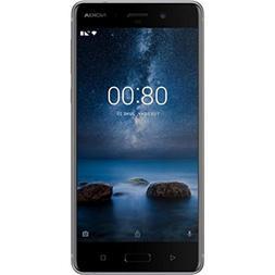 """Nokia 8 TA-1052 64GB Steel, Dual Sim, 5.4"""", 4GB RAM, GSM Unl"""