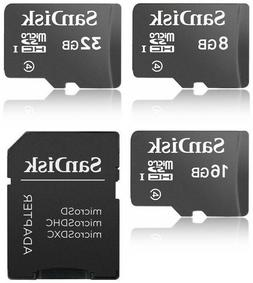 SanDisk 8GB 16GB 32GB microSDHC Class 4 microSD micro SD SDH