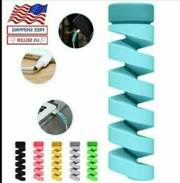 8pc Universal Twist Spiral Cable Protector Saver Cover For a
