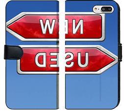 Apple iPhone 7 Plus and iPhone 8 Plus Flip Fabric Wallet Cas