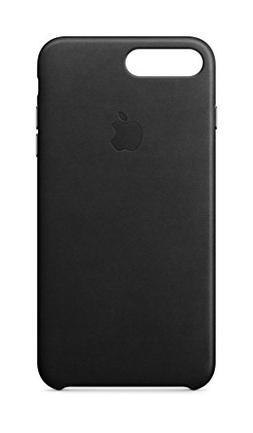 Apple iPhone 8 Plus / 7 Plus Leather Case - Black