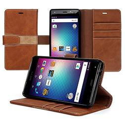 Bear Motion for BLU R1 HD - Wallet Folio Case for BLU R1 HD