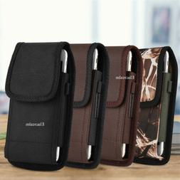 Belt Clip Vertical Holster Pouch Carrying Case For Apple/Sam