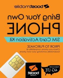 Boost Mobile - Bring Your Own Phone -